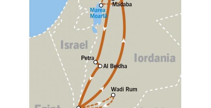 Pachet promo vacanta Circuit Iordania Circuite Iordania Iordania imagine 12